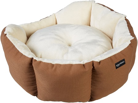 AmazonBasics Octagon Pet Bed for Dogs
