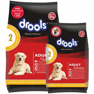 Drools Chicken and Egg Adult Dog Food