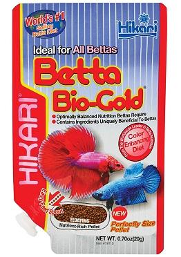 HIKARI Betta Bio-Gold Aquarium Fish Food