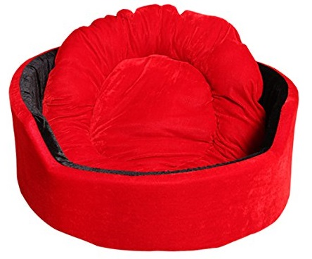Jerrys Pet Products Super Soft Dual Round Dog Bed
