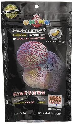 Okiko Food for Flowerhorn Head Fish