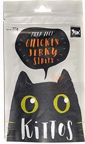 PetSutra Kittos Treats Chicken Jerky Strips