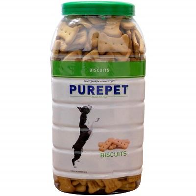 Purepet Vegeterian Dog Biscuit