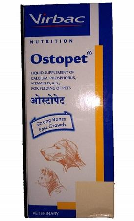 Virbac Nutrition Ostopet Calcium and Multivitamin Pet Supplement